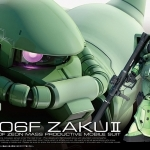 GUNDAM RG 04 ZAKU II