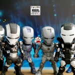โมเดล Iron Man Kids Nation Sci-Fi Series 03 Set 6 ตัว