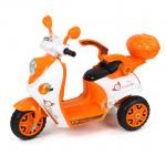 รถมอเตอร์ไซค์ (รถแบต) สีส้ม...ฟรีค่าจัดส่ง