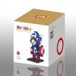 เลโก้ Loz ชุด Gift Series Dimond blocks (New Captain America)