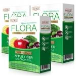 Flora Apple Fiber Chlorophyll by Ozee ดีท็อกซ์ ฟลอร่า แอปเปิ้ล ไฟเบอร์ คลอโรฟิลล์