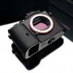Gariz Leather Half-case for Sony A7 Black