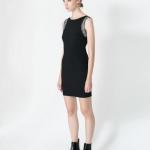Zara sleeveless Dress เดรสสีดำ แขนกุด ปักเลื่อม