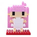 เลโก้ Loz ชุด Gift Series Dimond blocks (Lovely Girl )
