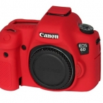 Canon 6D EasyCover Silicone Case -Red