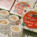Is Pure Sunscreen by Pure Nature 10 g. อีส เพียว กันแดดส้มจี๊ด