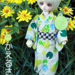 YOSD Yukata Set - Sandy Brown