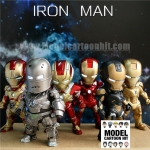 โมเดล Iron Man Kids Sci Fi 02 Set 6 ตัว