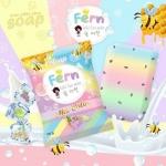 Omo White Plus Soap by Fern 80 g. สบู่ โอโม่ ไวท์ พลัส 6 สูตร 6 สี จบในก้อนเดียว