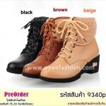 Preorder 9340p รองเท้าหุ้มส้นแฟชั่น 34-39