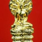 ...โค้ด ๔๕๔..พระนาคปรก ญสส. 84 พรรษา รุ่นเจริญโภคทรัพย์ วัดบวรฯ ปี 40 ทองเหลืองชุบทอง พร้อมกล่องสวยครับ