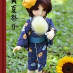 YOSD Yukata Set - Owl Blue