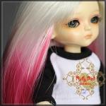 Shocking Pink Gradient Wig
