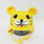 หมวกถักไหมพรม รูปสัตว์น่ารัก ราคาถูก-เสือน้อย