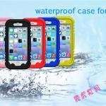 """เคสกันน้ำ iPhone6 4.7"""" iPhone6plus 5.5"""" ดำน้ำ-กันน้ำ สีสันสดใส"""