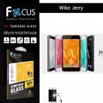 Focus ฟิล์มกระจกนิรภัย Wiko Jerry กันรอยนิ้วมือติดเองได้ง่ายๆ