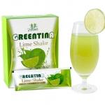 Greentina Lime Shake กรีนติน่า ไลม์ เชค สดชื่น พุงยุบ ดื่มแล้วผอม