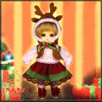 CC0012B Season's Reindeer