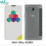 Wiko Case Smart folio WiCUBE ROBBY เคสแท้จากวีโก