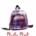 Red & Blue Backpack