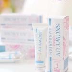Snowy UV Cream Sunscreen by Chomnita 15 g. สโนว์วี่ ยูวี ซันสกรีน กันแดดหิมะน้ำแตก