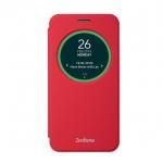 "Asus View Flip Cover Case สำหรับ Zenfone2Laser 5.5"" ZE550KL (RED)"