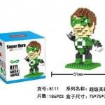 Lego Nanoblock New Green Lantern (แบบขยับแขนได้)