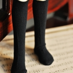 MSD Knee Socks Black