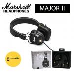 Marshall หูฟัง Headphone รุ่น Major2 II ประกันศูนย์ (Black Brown)