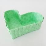 กล่องหัวใจ สีเขียวพาสเทล H-08