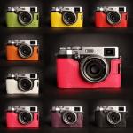 เคสกล้อง TP Half-case Fuji X100T color collection