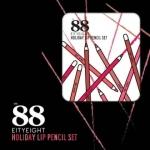 Ver. 88 Eity Eight Holiday Lip Pencil Set ฮอลิเดย์ ลิป เพนซิล เซท ลิปสีไม้ ลิปดินสอ
