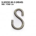 S-HOOK : H-3 (HEAD) size YOSD1/6