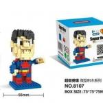 Lego Nanoblock New Super Man (แบบขยับแขนได้)