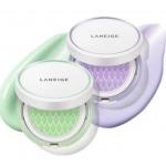 Laneige Skin Veil Base Cushion คุชชั่นเบส 15 g. ปรับสีผิวให้ขาว กระจ่างใส ตลับจริง+รีฟิล