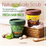 Fresh Hair Pack by Elastine 210 ml. ทรีทเมนท์บำรุงเส้นผม และหนังศีรษะ