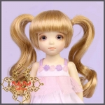 Blonde Twin Tails Wig