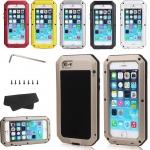 """เคสกันน้ำ กันฝุ่น iPhone6 4.7"""" iPhone6plus 5.5"""" MetalCase"""