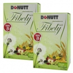 Donut Fibely โดนัท ไฟบีลี่ ดีท็อกซ์ชงดื่ม รสน้ำผึ้งมะนาว ช่วยกระตุ้นการขับถ่าย