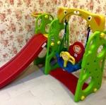 Sunny jumbo slide (rope)
