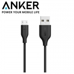ANKER PowerLine Micro USB (3ft / 0.9m) A8132 สายชาร์จ+Syncความเร็วสูง (Grey)