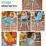 เก้าอี้ทานข้าวเด็ก หน้าสิงโต