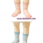YOSD Pastel Pink & Blue Socks Set