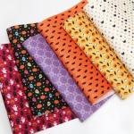 ผ้าสักหลาดเกาหลีลายฮาโลวีน size 1mm ขนาด 42x30 cm /ชิ้น (Pre-order)