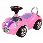 รถขาไถมินิคูเปอร์ สีชมพู (Baby Sliding Carriage)