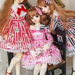 [PRE-ORDER] Stripe Collection SD Girl Set