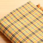 ผ้าคอตต้อนเกาหลี ลายตาราง Anaheim ผ้าฝ้าย 100% 20s ตัดขายขนาด 110x90 cm
