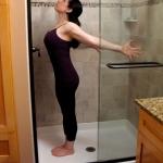 ออกกำลังกาย 3 – 5 นาที ระหว่างการอาบน้ำ