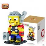 เลโก้ Loz ชุด Gift Series Dimond blocks Thor