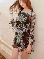 Flora Summery Dress by Seoul Secret